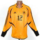 GERMANY MATCH WORN ISSUE 2004/2005 GOALKEEPER FOOTBALL SHIRT ADIDAS #12 SIZE L