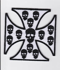 CHOPPERS     PATCH   ECUSSON  Patch thermocollant   TETE DE MORT
