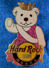 OSAKA JAPANESE BEAUTY PAGEANT GIRL CITY *POLAR* BEAR SERIES Hard Rock Cafe PIN