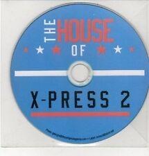 (DD335) The House of X-Press 2, X-Press 2 - DJ CD