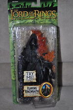 LORD OF THE RINGS RING FLAMING RINGWRAITH LIGHTUP FLAME BATTLE 5 ARMIS 6""