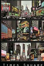 Times Square & Broadway Ads, Jersey Boys, Film Ghost, New York City --- Postcard
