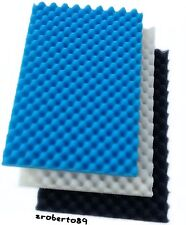 "2 x Sets Kockney Koi Foam / Sponge 11"" x 17"" Fish Pond Filter"
