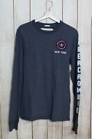 MAGLIA UOMO - ABERCROMBIE & FITCH - TG. M - MAN'S LONGSLEVEES SHIRT #1592