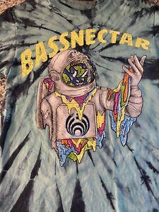 Bassnectar 2017 Tie Dye Music Festival T Shirt  Size Small