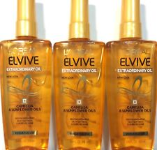 *NEW* 3 L'OREAL PARIS EXTRAORDINARY OIL DEEP NOURISHMENT SILKY SOFTNESS SHINE