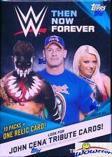 2017 Topps WWE Wrestling Then, Now, Forever EXCLUSIVE Sealed Blaster Box