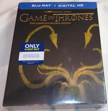 GAME OF THRONES The Complete Second Season Blu-Ray BEST BUY EXCLUSIVE 2 2nd Two