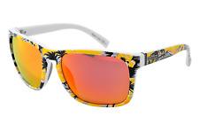 NEW Von Zipper Lomax Sunglasses-YEC Gnarr Waiian Yellow-SAME DAY SHIPPING!