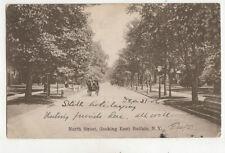 North Street Looking East Buffalo Ny Usa 1907 U/B Postcard Us015