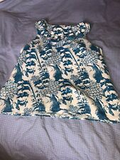 A Blue And White Top By Next Size 16