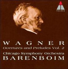Wagner: Overtures & Preludes, Vol. 2 (CD, 2004, Teldec/MHS) Barenboim
