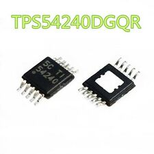 5pcs TPS54240DGQR TPS54240 54240 3.5V to 42V STEP DOWN SWIFT TI MSOP-10