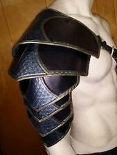 LEATHER ARMOR ORNATE SENTINEL 2 SHOULDER LARP COSPLAY