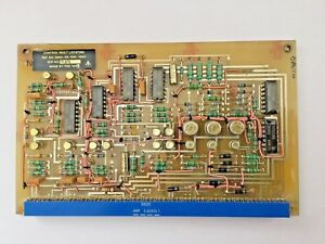 Fault Locating Control Circuit Card from a CAE Lynx Helicopter Flight Simulator