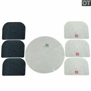 Filterset DeLonghi Fettfilter Kohle Serien F8, D8, F1000 Fritteuse 5525101500