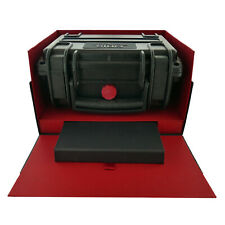 ORIS RARE CARLOS COSTE ORIGINAL LARGE PLASTIC WATCH BOX AND OUTER BOX
