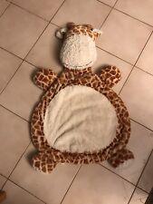 Giraffe Baby Play Mat Cuddle Rug Tummy Time Mat very plush very soft amazing