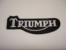 TRIUMPH logo  PATCH ECUSSON THERMOCOLLANT  ROCK BIKER MOTO