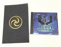 DARK REIGN: The Future of War - (PC CD-ROM Game, 1997) with Manual