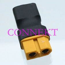 XT60 Female to T-Plug Deans Female No wire adapter For Car Lipo Battery