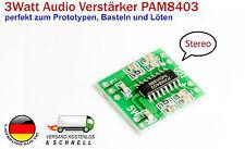 Ein MINI 2x3 Watts Audio Stereo RINFORZATORE PAM8403 PER protoyping ALTOPARLANTE