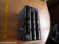 JRR Tolkien Lord of the Rings slipcase book set 1st print 2001 3 volume set HC