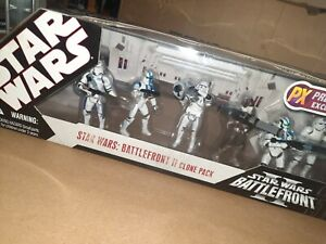 Star Wars Battlefront 2 Clone Pack PX Previews Exclusive. New in box