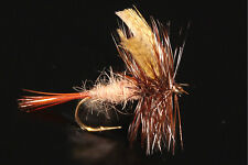 MARCH BROWN mouche SERENITY - qty/taille - dry fly fishing flies seche quality