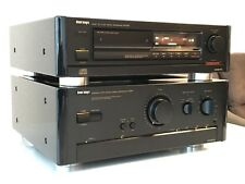 Onkyo A-8990 & DX-6990 Grand Integra / Stereo Amplifier & CD-Player