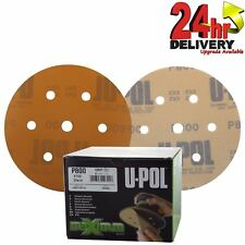 """U-POL maximum abrasif Latex papier P800 6"""" ponçage disque-x100 en Boîte Beige"""