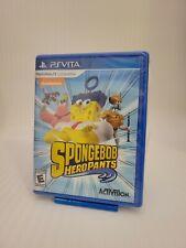 SpongeBob HeroPants PS Vita Brand New Factory Sealed & Cased