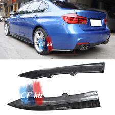 F30 Carbon Fiber PSM Style Rear Splitter Side Lip For BMW F31 M Sport M-TECH