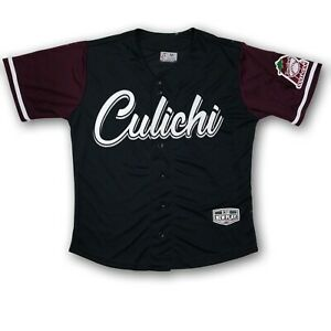 "Tomateros De Culiacan ""Culichi"" Men's Official Product Black/Burgundy Jersey NWT"