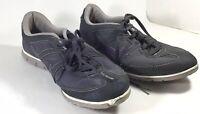 Nike Oceania NM Obsidian Women's Sz 9 Grey - Purple Running Shoes #443937-050