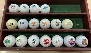 LOT OF NEW GOLF BALLS FROM VARIOUS COURSES
