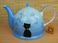Teekanne Keramik 1 7l Filou Cha Cult Handbemalt Tee Kanne