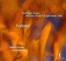 FURIOSA: VIRTUOSO MUSIC FOR TWO BASS VIOLS BY GOTTFRIED FINGER NEW CD