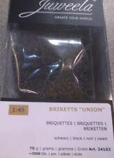 "Juweela 24102 Briketts ""Union"" - schwarz  75g (ca. 2500 Stk.)"