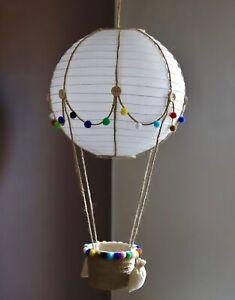Heißluftballon Lampe- ein besonderes Geschenk für Kinder