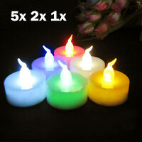 5/2/1 Color Changing Flameless LED Tealight Tea Candle Party Wedding Light Lamp