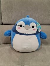 """Squishmallow 12"""" Babs the Blue Jay Squishmallow Brand New with Tags"""