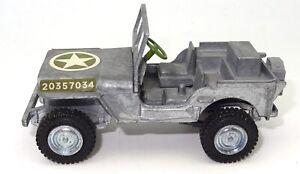 DINKY NO. 612 - U.S. ARMY JEEP - RARE DIECAST MODEL