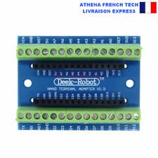 Bornier adptateur pour carte Arduino Nano, DIY