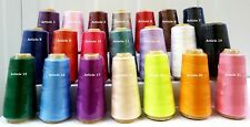 100% Polyester Heavy duty sewing machine thread 2500m spools for Brother Janome