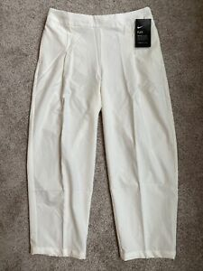 Womens Small Nike Dri-Fit Flex Woven Golf Cropped Casual Pants AJ5686-133