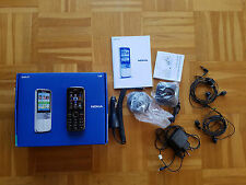Nokia C5-00 Smartphone Simlockfrei NAVI-Edition Schwarz T-Mobile Branding