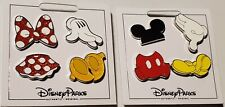 Disney Pins Mickey and Minnie Body Parts Shoes Bow Skirt Glove & More Free Ship