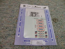 Microscale decals N 60-4070 Conrail US Cycling Commemorative S40-2 SD50    K96