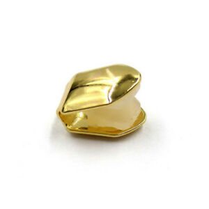 Silber/Goldzahn Grillz Cap Fang Plated Small Single AlloysZähneKörperschmuck